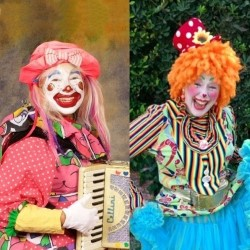 FAKE Funtastic Giggles Out the Band Day Sphere a Patty Clown Zoo, with Go Clowntown: to and